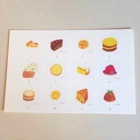 アトリエコトトイロ | 2020年オリジナル英国菓子カレンダー
